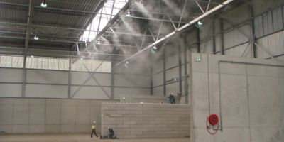 Area dust & odour suppression